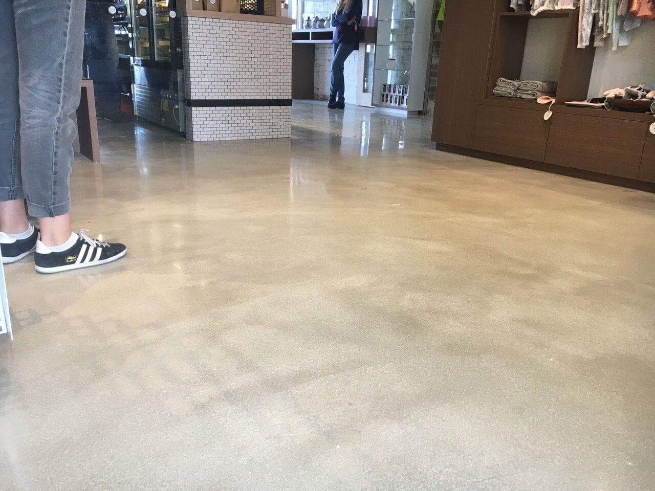 Where Polished Concrete are Being Used