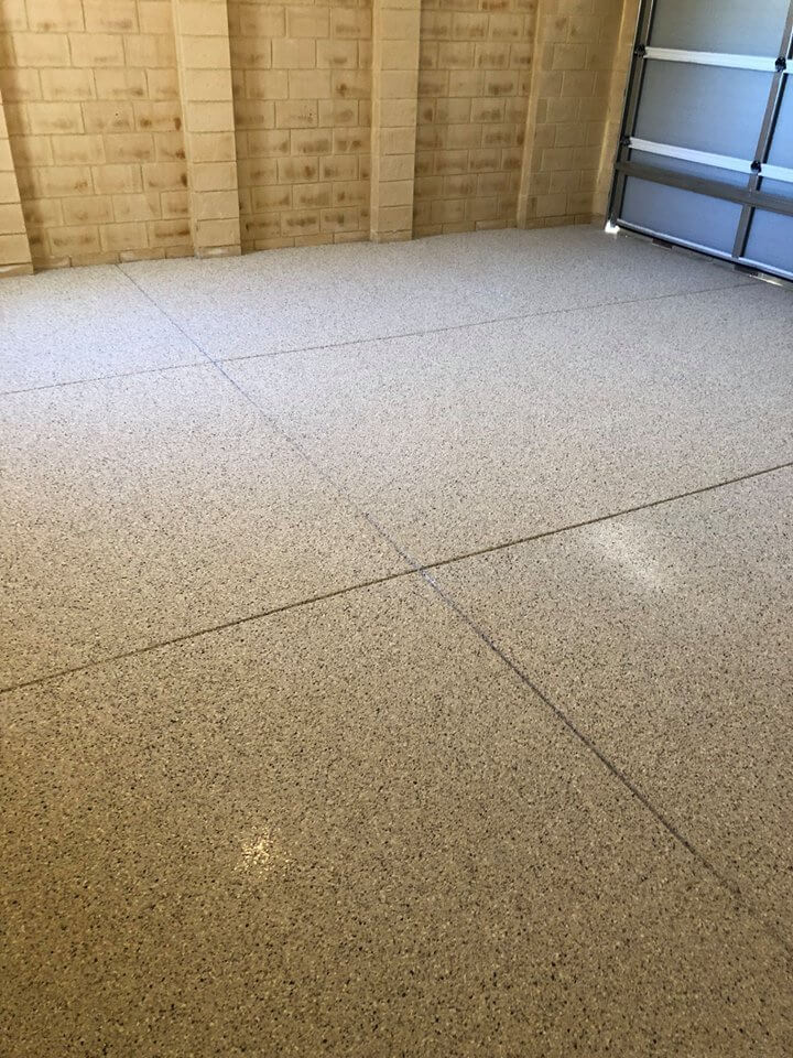 Prolonging the Life of your Garage with Flake Epoxy Garage Flooring